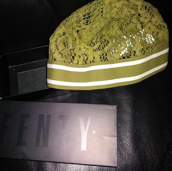 30d7936b334 Rihanna Fenty Lace Skull Cap